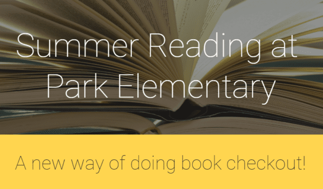 Summer Reading at Park Elementary